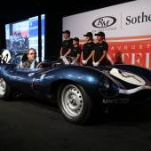 1955 Jaguar D-Type © 2016 Courtesy of RM Sotheby's