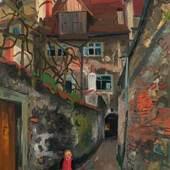 0003  Rudolf Wacker  Gasse, 1928  € 50.000 - 100.000