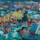 0009  Josef Floch*  Wiener Ansicht im Winter, 1921  € 35.000 - 70.000