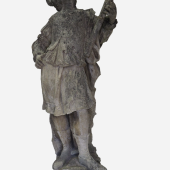 Himmelsforscher  Niederösterreich, 17. Jahrhundert, Sandstein, originaler Zustand, H: 155 cm  Foto: Franz Schauer