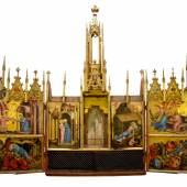 Neupräsentation des Altars von Schloss Tirol im Ferdinandeum Foto: Günter R. Wett