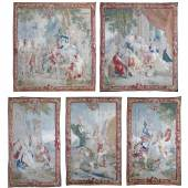 Habsburger Kaiserhaus angefertigte Serie von fünf Tapisserien aus einem Achilleszyklus mit einem Schätzwert von 120.000 €.