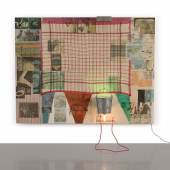 Rumor (Spread) (1980) is an exemplary work from Robert Rauschenberg's iconic Spreads (1975-83)