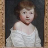 """Kinderportrait"",Öl auf Leinwand,doubliert,Thomas Lawrence(1769-1830) zugeordnet, ca.39,5x31,5cm"