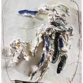 Lucio Fontana (1899 - 1968) Desposizione, 1954/56, glasierte Keramik, 51,5 x 42 x 11 cm, Schätzwert € 200.000 - 300.000 Auktion 25. November 2020