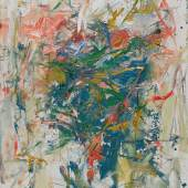 Joan Mitchell, Composition, 1962, oil on canvas, 146.1 x 114.3 cm. Solomon R. Guggenheim Foundation, Hannelore B. and Rudolph B. Schulhof Collection, bequest of Hannelore B. Schulhof, 2012
