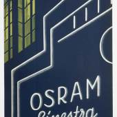 Werbebeilage der Firma Osram, 1930er Jahre Sammlung Werkbundarchiv – Museum der Dinge / Foto: Armin Herrmann
