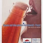 Magazinwerbung der Firma Pepsi-Cola, 1970er Jahre Sammlung Werkbundarchiv – Museum der Dinge / Foto: Armin Herrmann