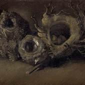 Vincent van Gogh (1853-1890), Vogelnester, Öl auf Leinwand, 33,3 x 43,3 cm, Kröller-Müller Museum, Otterlo, Niederlande