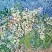 Vincent van Gogh (1853-1890), Blühende Kastanienzweige, 1890, Öl auf Leinwand, 72 x 91 cm, Sammlung Emil Bührle, Zürich. Photo: © SIK-ISEA, Zürich (J.-P. Kuhn)