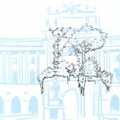 Bildcredit: Nutzungsidee: Wald, Illustration Neue Burg: Artur Bodenstein, Zeichnung: Andi Zobernig