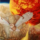 Karpfen Evamaria - Mars is feeding our Planet, 120x80 cm