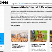 Klick dich ins Museum Niederösterreich!