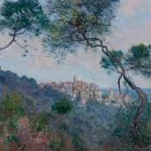 Claude Monet: Bordighera, Italien (Detail), 1884, Öl auf Leinwand, 60 x 73 cm, Hasso Plattner Foundation