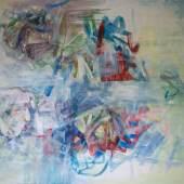 Hamo - Große Veränderungen I, Acryl auf Leinwand, 120 x 140 cm