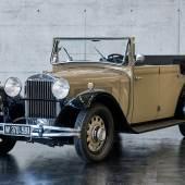 Lot 65: 1932 Steyr 30 E Standard-Kabriolet, Schätzwert € 70.000 - 90.000