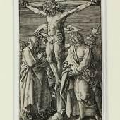 "Dürer, Albrecht (1471-1528) 1 Blatt Holzschnitt ""Die Marter der Zehntausend"" (1496), um 1580-1600, erzielt für 4.000 Euro"