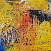 Gerhard Richter 17.4.89, 1989 Öl auf Karton 29,5 x 42cm Ergebnis: 345.600 Euro
