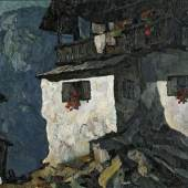 MULLEY, Oskar   1891 - 1949 Am Berghang II € 15.000 – 20.000, Öl auf Leinwand 105 x 155 cm