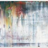 Künstler: Gerhard Richter Titel: Abstract Painting, WVZ 840-7, 1997 Format: 50 x 72 cm Technik: Öl auf Aludibond Galerie: Galerie Terminus (München)