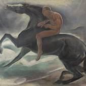 Benno Berneis Reiter am Meer, 1913 (c) Berlinischen Galerie