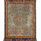 Großes Thangka in der Nyingmapa Tradition Nepal 246 x 150cm Ergebnis: 25.600 Euro