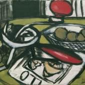 Max Beckmann (1884–1950) Küchenmaschine, 1945  Öl auf Leinwand 40 x 60,5 cm Sammlung Würth, Inv. 2226 © 2016 VG Bild-Kunst, Bonn für die Werke von Max Beckmann und Max Ernst