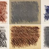 225 CY TWOMBLY Untitled (6 Blätter), 1971. Lithografien Schätzpreis: € 300.000 - 400.000
