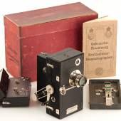 Kretzschmar Kinematograph, Jahr: ca. 1902 Seriennummer: 699 Schätzpreis: EUR 8.000 - 10.000