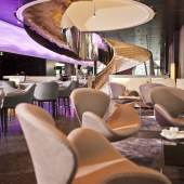 22 restaurant - Meliã Danube City Tower Innovatives Design, internationale Küche, ... alles im Hotel Meliã Vienna im DC TOWER 1 ist Teil des Lifestyle-Konzepts dieser europaweit agierenden Hotelgruppe. © Walter Sieberer