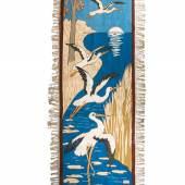 """Wandteppich """"Fünf Störche"""", Entwurf Hermann Sperling, 1901, L: 237 cm  Foto: Brigantine 1900"""
