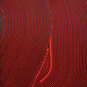 "Jakob Gasteiger ""14.11.2019"", Acryl auf Leinwand, 60 x 50 cm  Foto: Galerie Weihergut / © Bildrecht Wien, 2020"