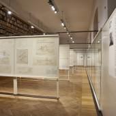 MAK-Ausstellungsansicht, 2018 GUSTAV PEICHL. 15 Bauten zum 90sten MAK-Kunstblättersaal © MAK/Georg Mayer