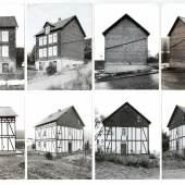 BERND BECHER (1931–2007) / HILLA BECHER (1934–2015) 'Ansichten eines Wohnhauses in Birken bei Siegen', 1971 © OstLicht Photo Auction
