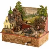 Kleine Landschaft mit Spieluhr