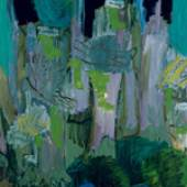 Wald-Variation I, 1989 Öl auf Leinwand 200 x 130 cm Sammlung Caisa und Åke Skeppner ©Per Kirkeby, Courtesy Galerie Michael Werner Berlin, Köln & New York