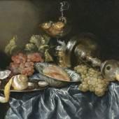 Abraham van Beyeren 'Prunkstilleben mit Silberwaren und Wanli-Schale' (Lot. 25)