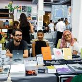 Biel Books and unbag at the NY Art Book Fair. Photo by Megan Mack