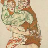 Egon Schiele, Liebesakt, 1915 © Leopold Museum, Wien, Inv. 1419