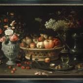 Clara Peeters Werkzaam in Antwerpen, c.1607-1621 of later Stilleven met vruchten en bloemen, c.1612-1613 Koper, 64 x 89 cm Oxford, Ashmolean Museum, Bequeathed by Daisy Linda Ward, 1939