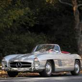 Lot 126  1958 Mercedes-Benz 300 SL Roadster (CHASSIS NO. 198.042.7500649)  $1,407,500