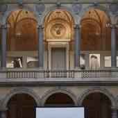 MAK-Ausstellungsansicht, 2018 GUSTAV PEICHL. 15 Bauten zum 90sten MAK-Säulenhalle © MAK/Georg Mayer