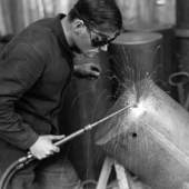 Schweisser 1940 (ca.) | Frauenfeld | Foto: Theo Ballme