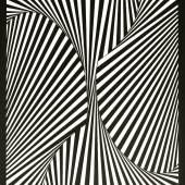 2 H.JOOS sw Komposition - Balance B 31-1971-serigrafie-Papier-68x52cm