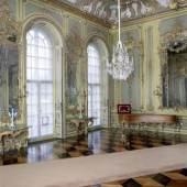 """Wieder """"am Netz"""": Blick in das Konzertzimmer der Königswohnung im Neuen Palais. Foto: SPSG / Wolfgang Pfauder"""