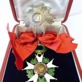 Los 371 Frankreich Dritte Republik (1871-1946). Set des Grosskreuzes des Ordens der Ehrenlegion bestehend aus dem Grosskreuz, grosses und dickes Model 2.500 €