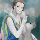 312480 Marie Laurencin, Portrait de Marcelle Dormoy (1895-1976). l  auf Lwd., sig. u. dat. 1937 o.r., 65x55 cm, SP 70000 .jpg