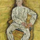 Egon Schiele, Victor Ritter von Bauer, 1918  Foto: Johannes Stoll / Belvedere, Wien