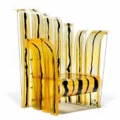 """GAETANO PESCE Sessel """"Queen of Nobody"""" aus der Serie """"Nobody's perfect"""". Entwurf 2003 für Zerodisegno. CHF 2 500 / 3 500"""
