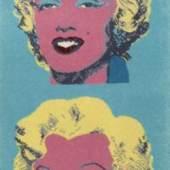 Künstlerteppich 'Marilyn Blue', 1964 Andy Warhol Nachverkaufspreis: € 7.500 zzgl. Aufgeld Los 493